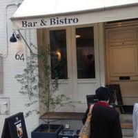 Photo taken at Bar&Bistro 64 by ぎゅ↪︎ん 🐾 ⁑. on 11/13/2012