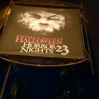 Photo taken at Universal's Halloween Horror Nights 23 by Marcelo S. on 11/1/2013