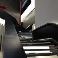 Photo taken at MAXXI Museo Nazionale delle Arti del XXI Secolo by Marc-James D. on 11/29/2012
