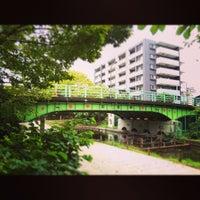 Photo taken at 紅葉橋 by Kazuo T. on 11/22/2014