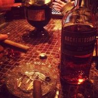 Photo taken at Velvet Cigar Lounge by Nicholas S. on 12/7/2012