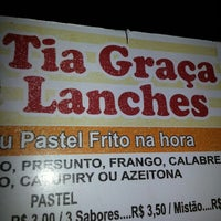 Photo taken at Tia Graça Lanches by Mjcs S. on 3/30/2014