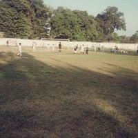 "Photo taken at Liga de Futbol ""ENVIDA"" by Karmelitha O. on 2/6/2015"