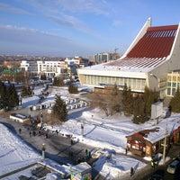 Photo taken at Крыша Альфа-банк by Алексей Г. on 3/15/2015