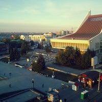 Photo taken at Крыша Альфа-банк by Алексей Г. on 9/28/2014