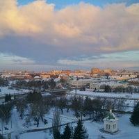 Photo taken at Крыша Альфа-банк by Алексей Г. on 2/14/2015