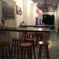 Photo taken at Sanook Thai Cafe by Uh Huh O. on 6/20/2014