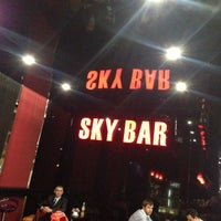 Photo taken at Sky Bar by Sergey R. on 10/15/2014