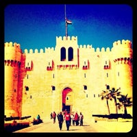 Photo taken at Citadel of Qaitbay by Aiman S. on 7/14/2013