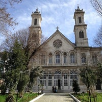Photo taken at Hagia Triada Greek Orthodox Church by Yedi Tepeli Kent on 7/28/2013
