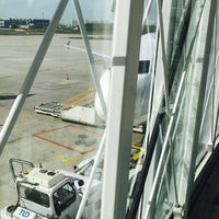 Photo taken at Gate F49 by Fm D. on 3/30/2017