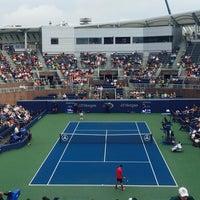 Photo taken at Practice Court 6 / Old Grandstand - USTA Billie Jean King National Tennis Center by Fm D. on 9/1/2016