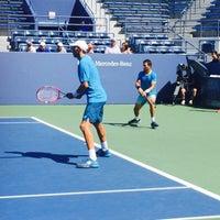 Photo taken at Practice Court 6 / Old Grandstand - USTA Billie Jean King National Tennis Center by Fm D. on 9/7/2015