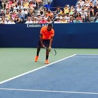 Photo taken at Practice Court 6 / Old Grandstand - USTA Billie Jean King National Tennis Center by Fm D. on 9/4/2015