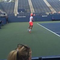 Photo taken at Practice Court 6 / Old Grandstand - USTA Billie Jean King National Tennis Center by Fm D. on 8/31/2016