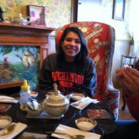 Photo taken at The Pantry Mouse Tea House by darlene d. on 11/16/2013