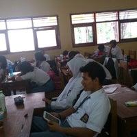 Photo taken at SMA Negeri 16 Surabaya by Abdiel J. on 1/7/2013