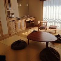 Photo taken at 竹と椿のお宿 花べっぷ by DashingBigBaby on 1/23/2014