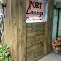 Photo taken at Port Lounge by Olga S. on 1/4/2014