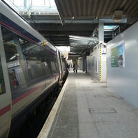 Photo taken at Haymarket Railway Station (HYM) by Anny D. on 2/7/2013