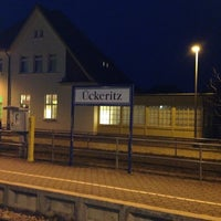 Photo taken at Bahnhof Ückeritz by Juergen R. B. on 11/15/2012