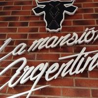 Photo taken at La Mansión Argentina by Fofo V. on 2/14/2015