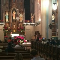 Photo taken at St. Mary's Catholic Church by Kelly P. on 12/25/2014