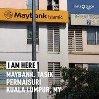 Photo taken at Maybank by Erman M. on 2/15/2014