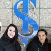 Photo taken at Türkiye İş Bankası A.Ş. Sirkeci Ticari Şubesi by Cenk G. on 3/21/2015