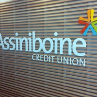 Photo taken at Assiniboine Credit Union by Duane N. on 7/26/2013