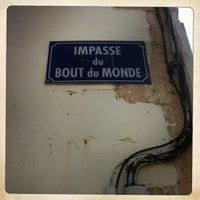 Photo taken at Impasse du bout du Monde by Christophe E. on 7/20/2013
