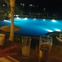 Photo taken at İsis Hotel Pool by TC Merve Ö. on 8/31/2015
