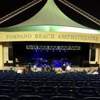 Photo taken at Pompano Beach Amphitheatre by Tim P. on 2/12/2017