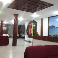 Photo taken at Bombinhas Palace Hotel by Pancho F. on 9/19/2014