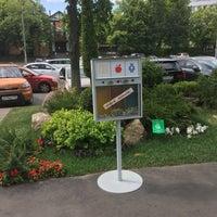 Photo taken at Сбербанк Центральный Аппарат / Sberbank HQ by Андрей Р. on 6/13/2018