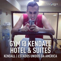 Photo taken at Gym @ Kendall Hotel & Suites by Ernani Domingos D. on 4/7/2013