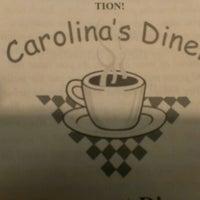 Photo taken at Carolina's Diner by Robert T. on 8/6/2013