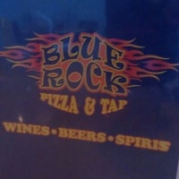 Photo taken at Blue Rock Pizza &Tap by Robert T. on 7/21/2013