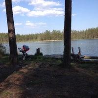 Photo taken at Ольховское озеро by Лина Е. on 5/24/2014