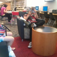 Photo taken at Queens Library at Broadway by Merci C. on 7/15/2013