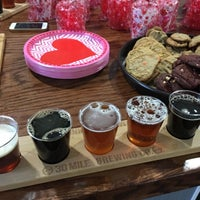 Photo taken at 30 Mile Brewing Co. by Liz S. on 2/19/2017