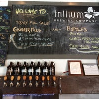 Photo taken at Trillium Brewing Company by Sharalee F. on 5/23/2016
