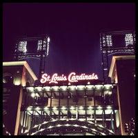 Photo taken at Busch Stadium by Gabe C. on 7/25/2013
