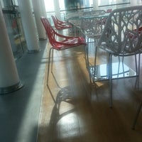 Photo taken at Ooredoo 6th floor (cafeteria) by Reem Q. on 8/25/2014