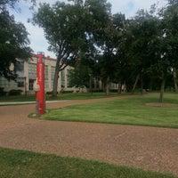 Photo taken at University of Houston by David R. on 8/20/2013