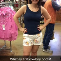 Photo taken at Cavenders Boot City by Whitney H. on 3/20/2015