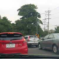 Photo taken at Phatthanakan Intersection by Lita on 11/6/2017