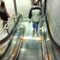 Photo taken at Metro Lingotto (M1) by Rossella R. on 5/10/2014