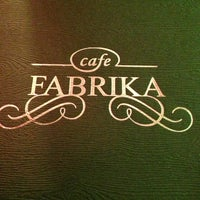Photo taken at Fabrika Cafe by Urec M. on 10/5/2013