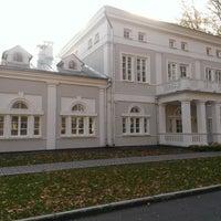 Photo taken at Дворцово–парковый ансамбль «усадьба Булгаков» by Volya M. on 3/22/2014